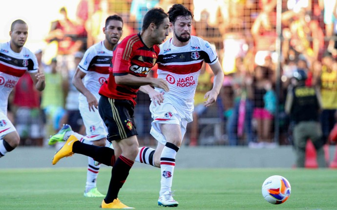 Sport x Santa Cruz Pernambucano (Foto: Antônio Carneiro/Pernambuco Press)