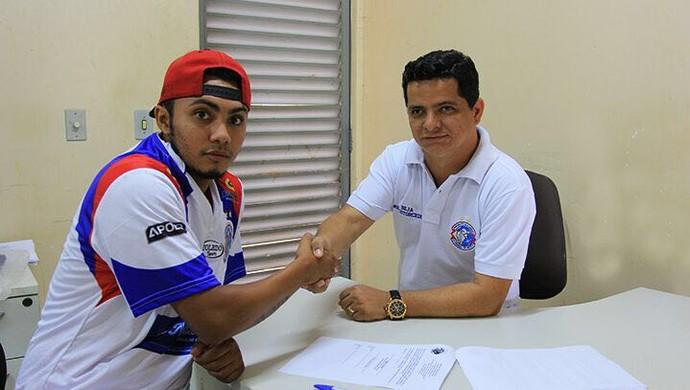 Maranhão assina com o Araguaína nesta sexta-feira (12) (Foto: Araguaína/ Divulgação)