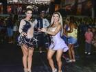 Irmãs Minerato são destaque durante ensaio de samba em São Paulo