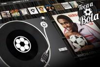 Raridades misturam música e futebol (arte esporte)