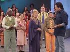 Glória Menezes grava 'Louco por Elas' no Domingão: 'Foi divertido, pude brincar'