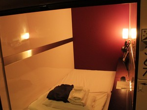 Cabine é um pouco mais espaçosa que a cápsula (Foto: Thiago Reis/G1)