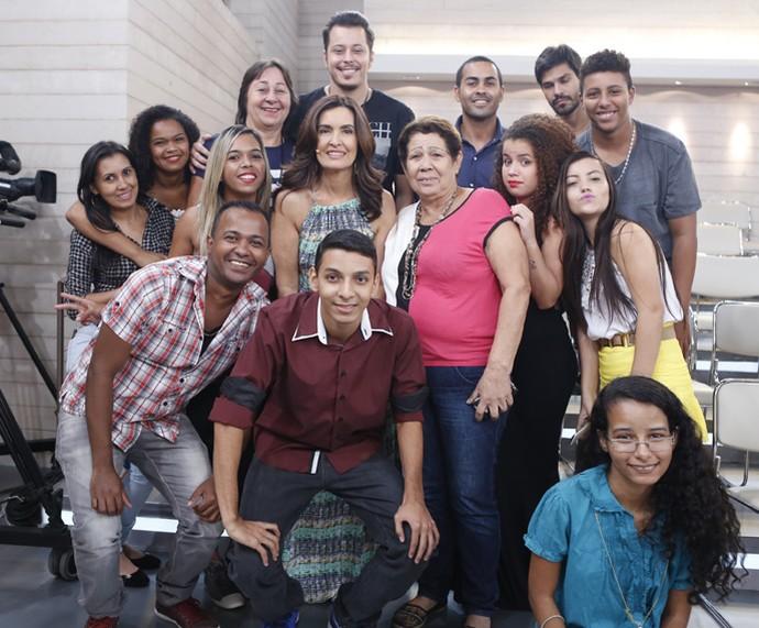 Plateia do 'Encontro' com a Fátima  (Foto: Ellen Soares/Gshow)