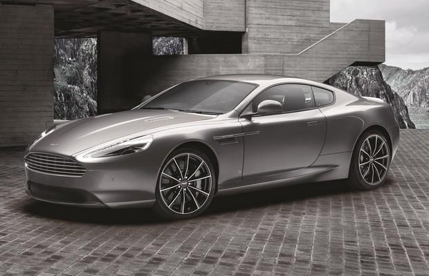Dianteira do Aston Martin DB9 GT Bond Edition (Foto: Divulgação)