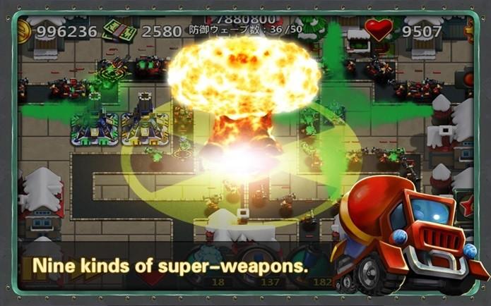 Little Commander 2 é um jogo no estilo Tower Defense (Foto: Divulgação)