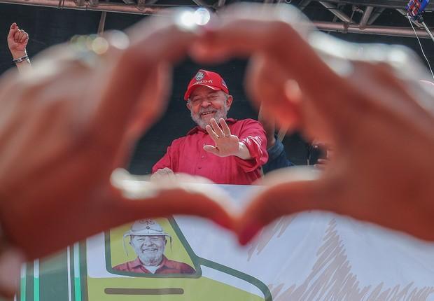 Lula visita Ipojuca, em Pernambuco (Foto: Ricardo Stuckert/Instituto Lula)