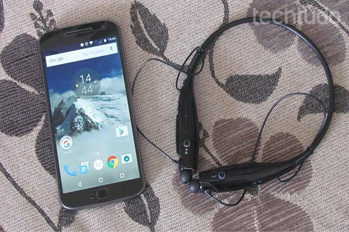 Aprenda a desbloquear seu Moto G 4 Plus com um fone Bluetooth (Foto: Paulo Alves/TechTudo)