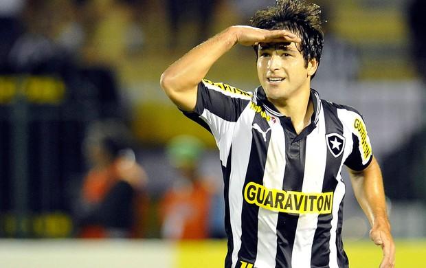 Lodeiro gol Botafogo (Foto: AGIF)
