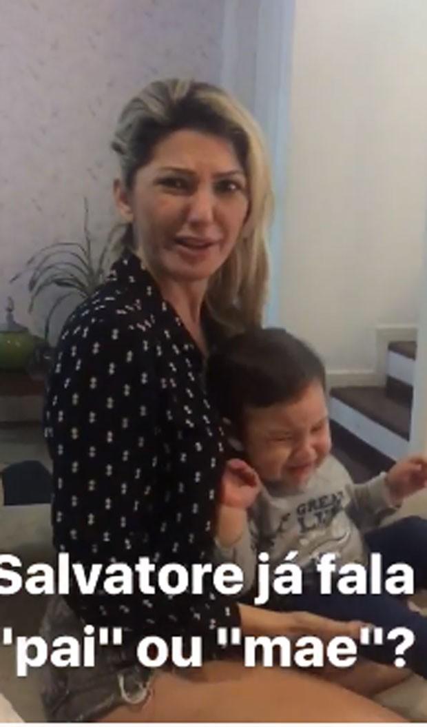 Antonia e Salvatore (Foto: Reprodução/Instagram)