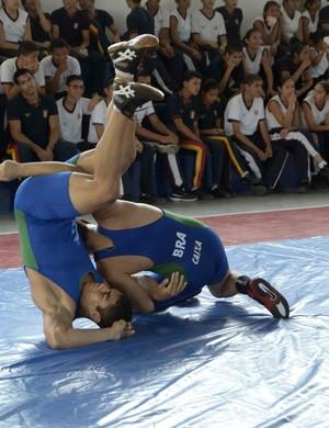 Luta olímpica manaus (Foto: Mauro Neto/Sejel)