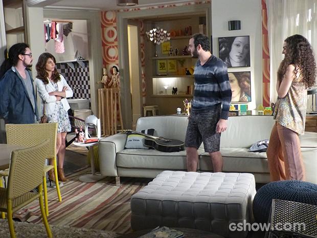 Jana conta para Manu que está grávida de Igor (Foto: Geração Brasil / TV Globo)