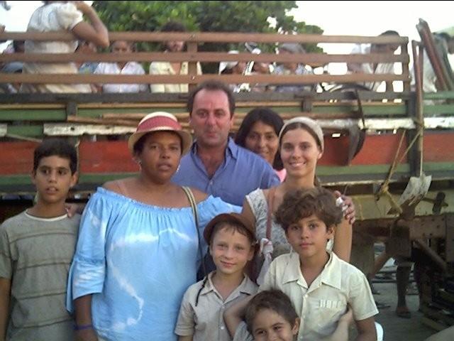Josélia Maria tem boas lembranças das gravações de Senhora do Destino (2004) (Foto: Arquivo Pessoal/ Josélia Maria)