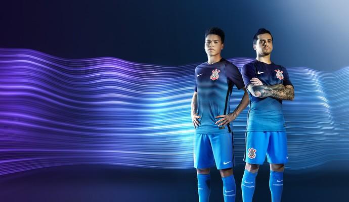 Imagens da nova terceira camisa do Corinthians vazam nas redes sociais 6f80e384625b9