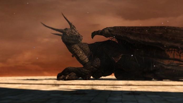 Ancient Dragon, de Dark Souls 2 (Foto: Divulgação)