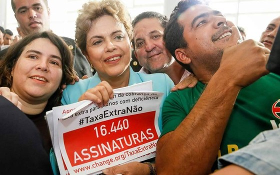 Inclusão: Dilma recebe abaixo-assinado de denúncia feita por ÉPOCA