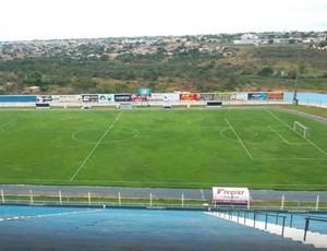 Estádio Zequinha Roriz, o Serra do Lago, será o palco de Luziânia x Estrela do Norte (Foto: Divulgação/Luziânia-GO)