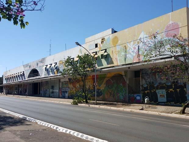 O Espaço Cultural Renato Russo, na W3 Sul, em Brasília (Foto: Luciana Amaral/G1)