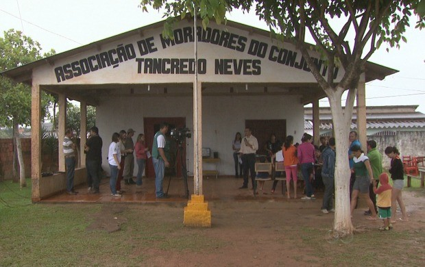 Evento aconteceu na Associação de Moradores do bairro Tancredo Neves. (Foto: Bom Dia Amazônia)