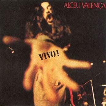 Capa do LP de Alceu Valença 'VIVO!', de 1976. (Foto: Mauro Luiz Thompson / Divulgação)