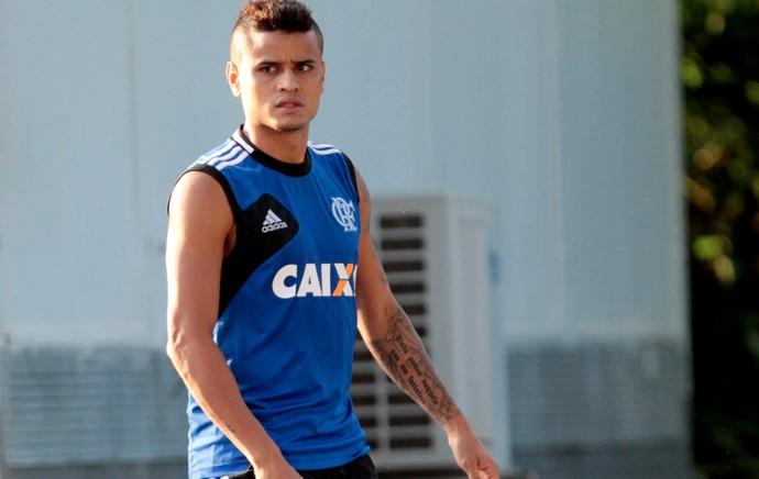 Everton Flamengo treino (Foto: Márcio Mercante / Agência Estado)