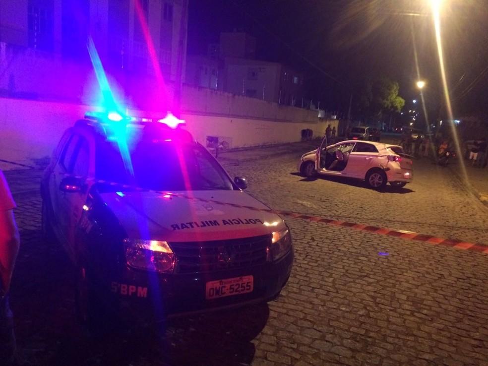 Advogado, irmão de delegada foi morto durante assalto em Natal  (Foto: Kleber Teixeira/Inter TV Cabugi)