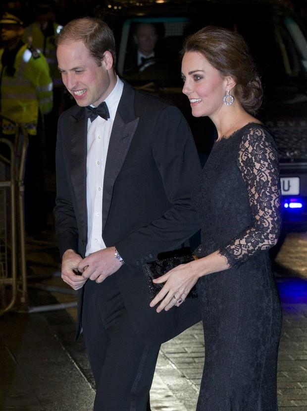 William e Kate MIddleton (Foto: AFP)