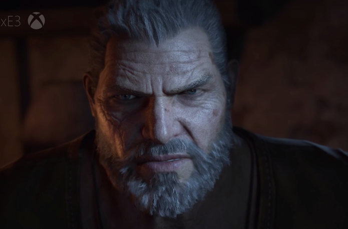 Gears of War 4 na conferência da Microsoft na E3 2016 (Foto: Divulgação/Microsoft)