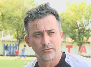 Técnico do Baré, Fábio Luiz (Foto: Divulgação)