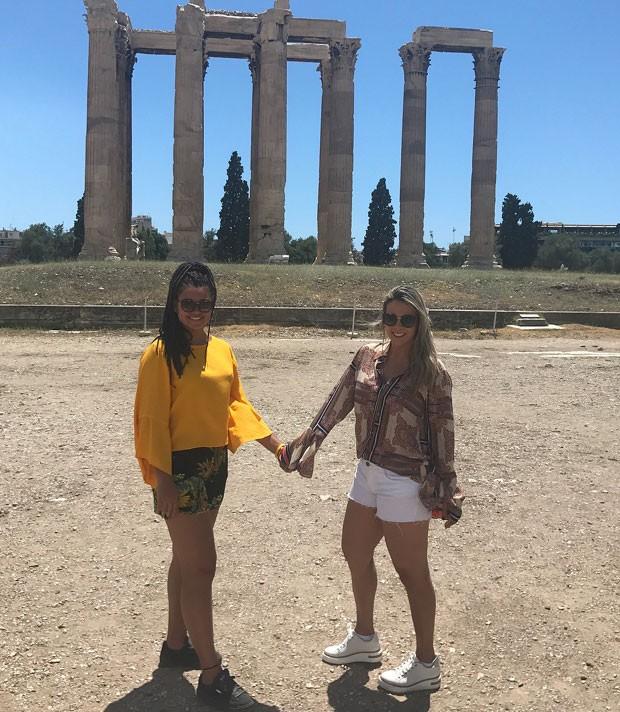 Aos 15 anos, Camilly está mais alta que a mãe, Carla Perez (Foto: Reprodução Instagram)