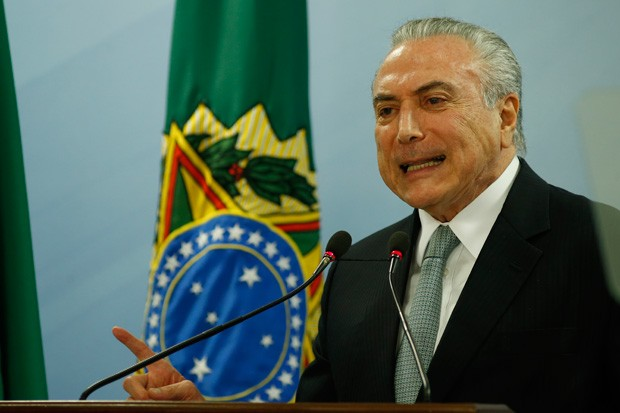 Michel Temer (Foto: Igo Estrela / Stringer/Getty Images)