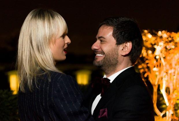 karolina kurkova e Bruno Astuto (Foto: Romeo Balancourt)