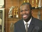 Rapper americano 50 Cent declara falência