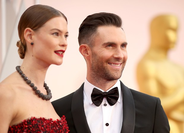 Adam Levine e Behati Prinsloo  (Foto: Gettyimages)