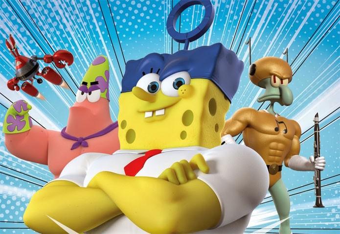 SpongeBob HeroPants se destaca nos lançamentos da semana (Foto: Divulgação)