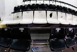 Palmeirenses quebram 45 cadeiras na Vila, mas Peixe diz que não vai cobrar