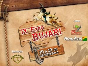 Expo Bujari aontece entre os dias 10 e 13 de setembro no municipio de Bujari (Foto: Ascom/ prefeitura)