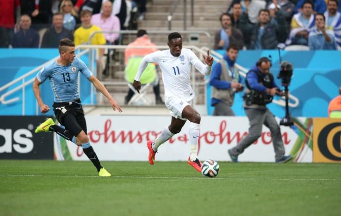 Uruguai x Inglaterra (Foto: Marcos Ribolli / Globoesporte.com)