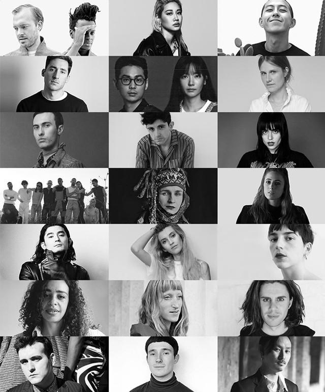 Os 21 semifinalistas do LVMH Prize 2017 (Foto: Reprodução)