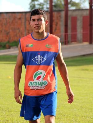 Matheus Damasceno, lateral-direito do Atlético-AC (Foto: João Paulo Maia)