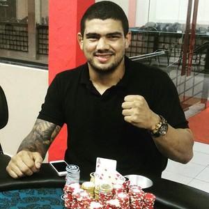 Braga Neto vence torneio de poker (Foto: Reprodução/Facebook)