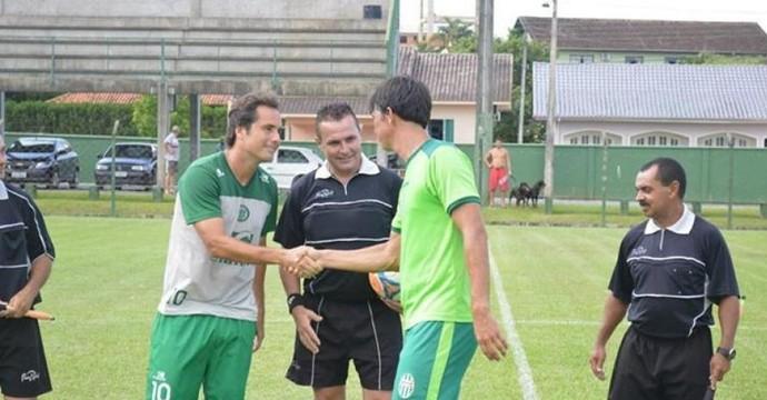 Metropolitano jogo-treino (Foto: Sidnei Batista/Metropolitano)
