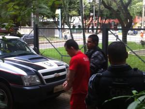 Breno é acusado de mandar matar a ex amante, matar a filha e esconder o corpo da criança (Foto: Maria Freitas/ G1)