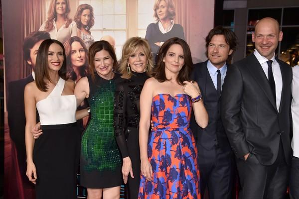 Parte do elenco de Sete Dias Sem Fim (2014) (Foto: Getty Images)