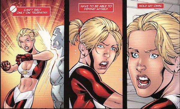 A personagem Moça Saturno em uma HQ da DC Comics (Foto: Reprodução)