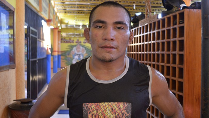 MMA, 'Pezão' intensifica treinos para encarar desafio contra John Macapá (Foto: Jonhwene Silva/GE-AP)
