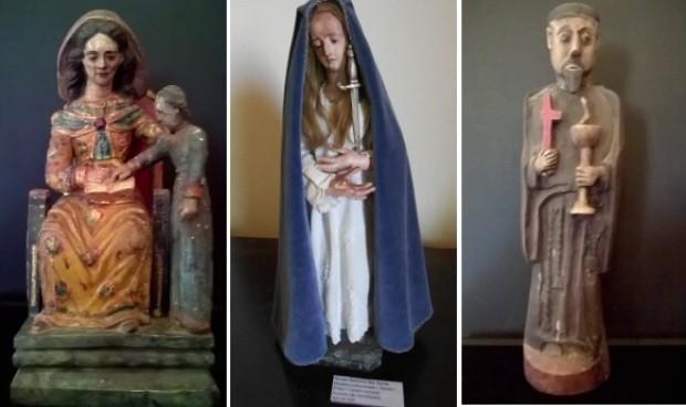 Algumas das imagens roubadas têm mais de 100 anos (Foto: Arte G1)