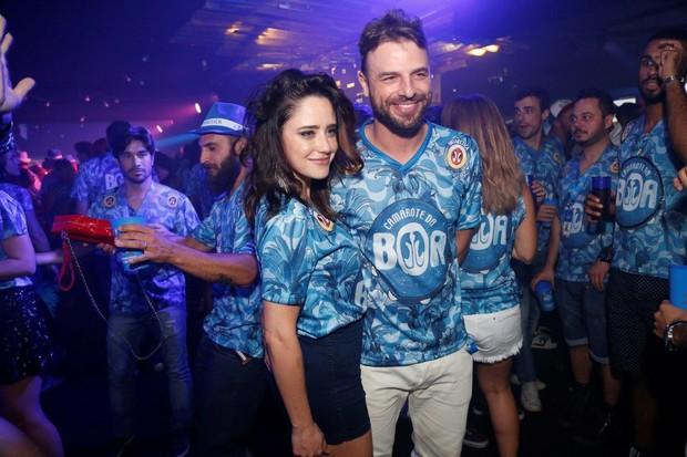 Fernanda Vasconcellos e Cássio Reis (Foto: Felipe Assumpção / AgNews)