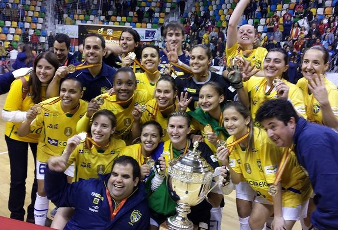 Brasil Espanha final mundial futsal feminino (Foto: Reprodução Facebook)