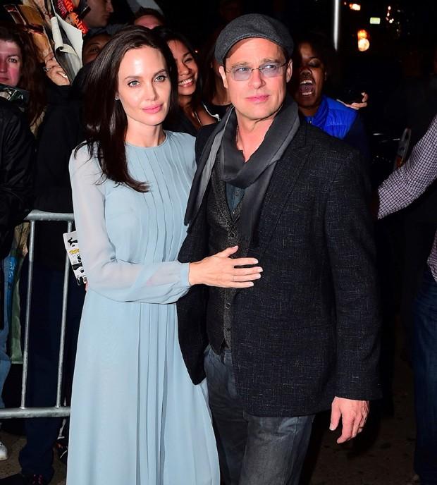 Angelina Jolie e Brad Pitt (Foto: AKM-GSI)