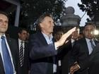 Cristina Kirchner e Mauricio Macri acertam transição na Argentina